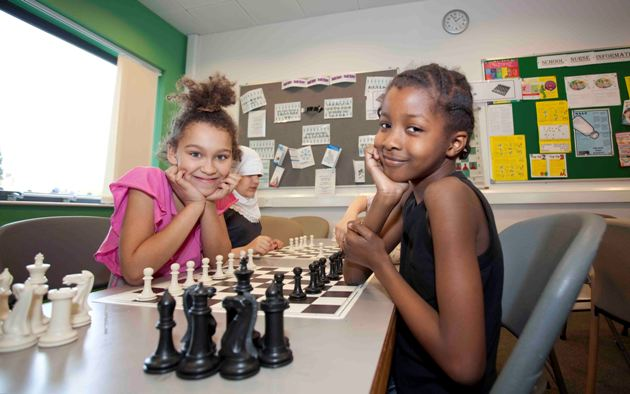 Teaching South London girls to play chess