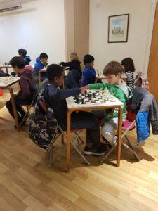 Noakes Hall junior chess club