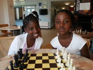 Junior chess students at Unity Centre, Harlesden